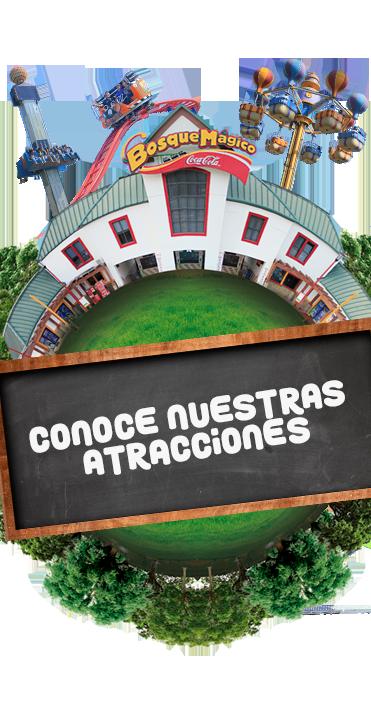 Calendario Bosque Magico 2019.Atracciones Bosque Magico Parque De Diversiones
